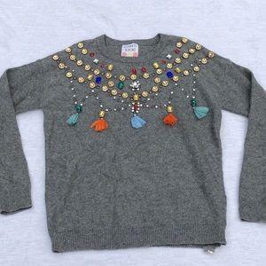 CLEMENTS RIBEIRO Embellished Sweater**Sm. $745